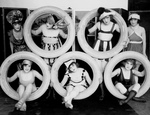7 Mack Sennett Girls With Automobile Tires