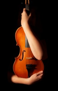 violin in arms / stress
